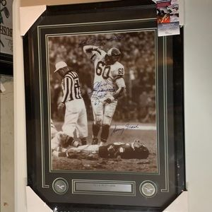 Other - Chuck Bednarik Signed Eagles  16x20  Framed JSA
